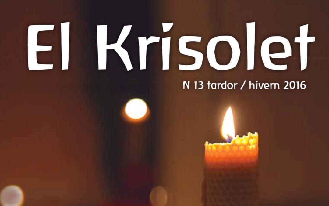 El Krisolet Nº13. Tardor/Hivern 2016