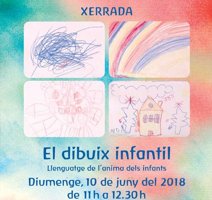 """Xerrada """"El dibuix infantil"""". diumengue 10 de Juny de 2018"""