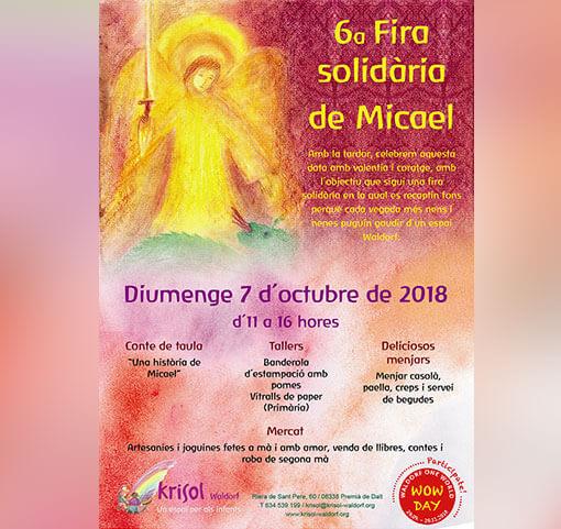 6a Fira Solidària de Micael