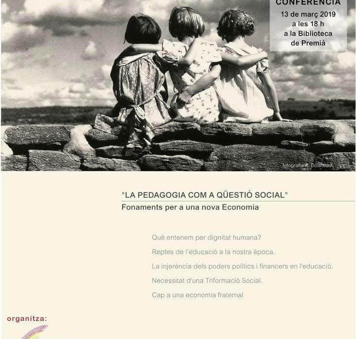 La pedagogia com a qüestió social