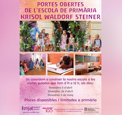 Portes obertes de l´escola de primària Krisol Waldorf Steiner