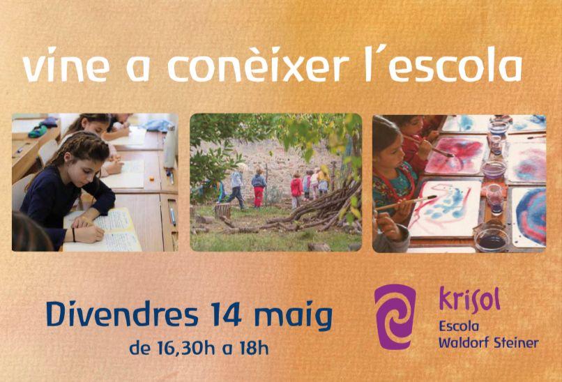 Jornada de puertas abiertas 14 de Mayo - Krisol Waldorf Steiner